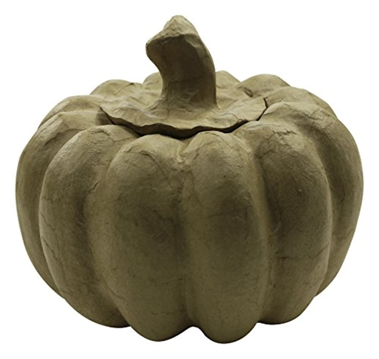 décopatch Mache Pumpkin, 15 x 15 x 13 cm, Brown