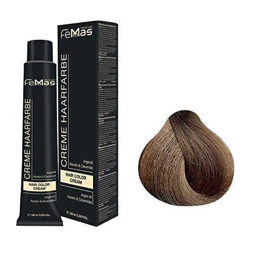 Femmas Hair Color Cream 100ml Haarfarbe (Hellblond Intensiv 8.0)