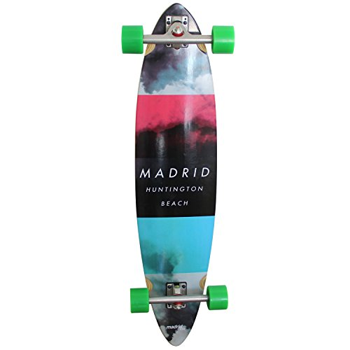 Madrid Longboard 'Cloud Basic pimped'komplettlongboard (7151–703050_p) Taille Unique