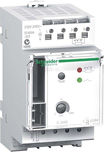 Schneider CCT15284 schemerschakelaar IC2000, isolatieschakelaar, 2.2000 lux inclusief sensorschakelbord