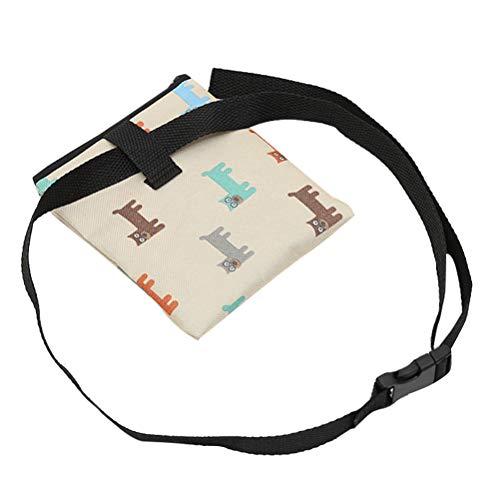Balacoo Futterbeutel Hundefutterbeutel Leckerlibeutel Leckerlitasche Gürteltasche für Hundetraining und Ausbildung (Farbe Wahl)
