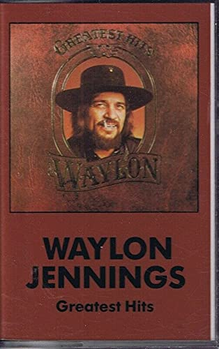 Waylon Jennings Greatest Hits VINTAGE 1979 Cassette Tape