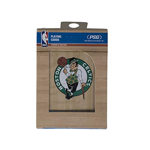 PSG, NBA Boston Celtics Playing Cards, One Size, Team Color