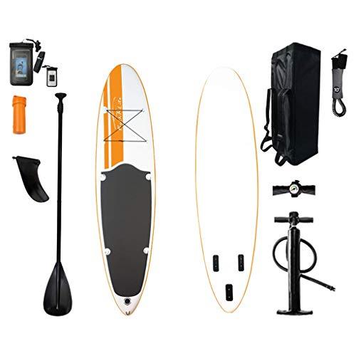 WEIFAN Stand Up Paddle Sup Board Bomba De Paleta con Mochila Y Correa Adecuada para Todas Las Habilidades Kit De Paddleboard Inflable para Principiantes Ideales 3M