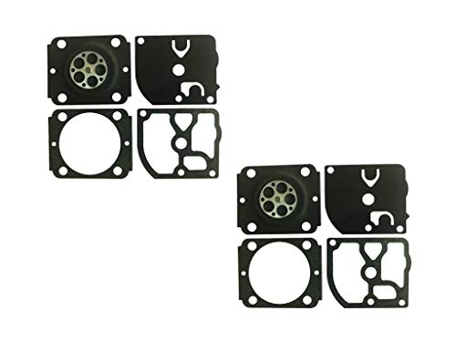 C·T·S Carburetor Gasket and Diaphragm Kit Replaces ZAMA GND-88 for Stihl BG66 BG86 Blower ZAMA Carburetor C1M-S141 C1M-S142 C1M-S144 C1M-S145 C1M-S146 C1M-S151 (Pack of 2)
