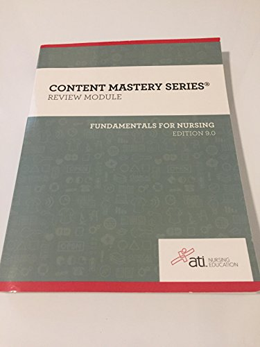 Content Mastery Series - Review Module - Fundamentals of Nursing, Edition 9.0-2016