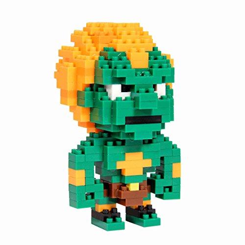 Street Fighter - Juego de construcción para niños (PP2385SF) - Figura Street Fighter Blanka Pixel Bricks