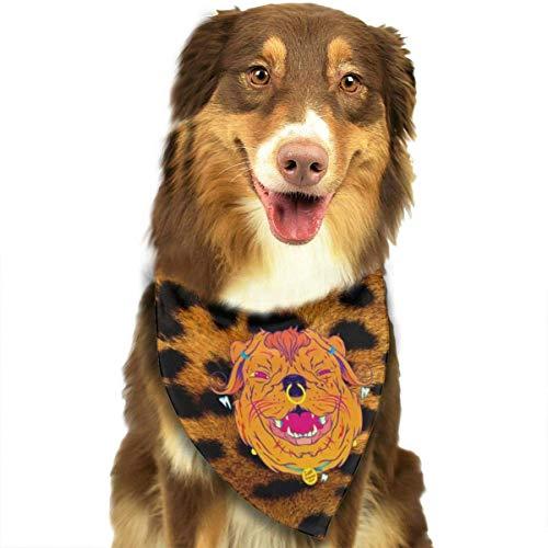 Patrn de Textura de Guepardo Collares de Bandana para Perros Pauelo Triangular Baberos Bufandas Accesorios Mascotas Gatos y Cachorros Toalla de Saliva