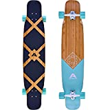 Apollo Dancer Longboard Bora, 46 x 9,5 Zoll, ABEC 9 Kugellager,...