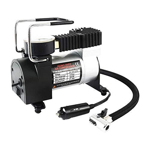 Herramienta 12V Portátil Coche Eléctrico de la Bomba para Inflar Con Aire del Compresor de Aire 80 Psi Eléctrico del Neumático del Neumático para Inflar Con Aire de la Bomba de Auto para Bicicletas Mo