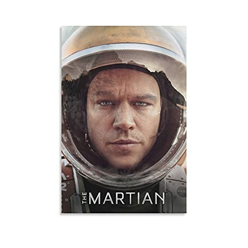 EITIFI The Martian (2015) Movie Poster Print Decorative Painting Living Room Canvas Wall Art Modern Family Aesthetic Bedroom Posters 08×12inch(20×30cm)