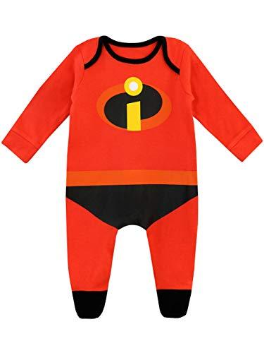 Disney Tutina da Notte per Bambino Gli Incredibili Rosso 9 a 12 Mesi