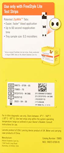 buy  FreeStyle Lite, Blood Glucose Monitoring System ... Blood Glucose Monitors