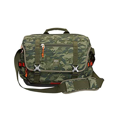 STM Trust, Laptop Shoulder Bag for 15-Inch Laptop - Green Camo (stm-112-034P-36) Size: 15-Inch Color: Green Camo, Model: stm-112-034P-36, PC/Computer & Electronics
