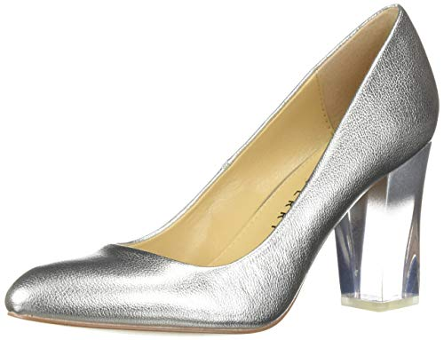 Katy Perry Women's The A.W Middie-Smooth Metallic Pump silver 8.5 M M US