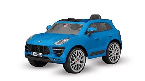 Porsche Macan, R/C Elétrico, 12V Bandeirante Azul
