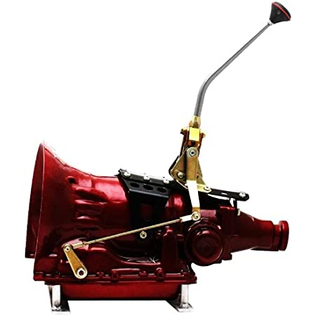 American Shifter 382816 Shifter Kit 904 23 Swan Trim Kit CHR Dual Shift Cap TN Boot Ringd Knob For D1C2B, 1 Pack
