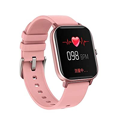 Amazon - Save 80%: P8 Smart Watch with Heart Rate Sleep Monitor Bluetooth Music Control…