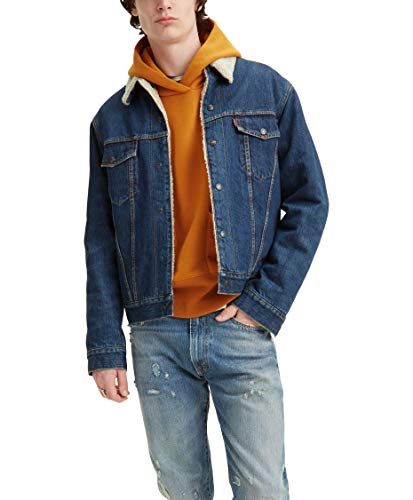 Levi´s Vintage Clothing Cazadora Vaquera 1967 Type III Sherpa 72587-0006 Color Wise Dub Lavado Oscuro