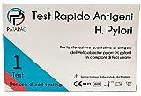 Pylori Test Antigénico para Screening Infección del Estómago – 1 Kit de análisis de heces para bacteria de Ulcera, Gastritis y otras infecciones gastrointestinales