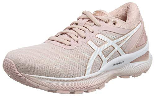 Asics Gel-Nimbus 22, Sneaker Womens, Ginger Peach/White, 37.5 EU
