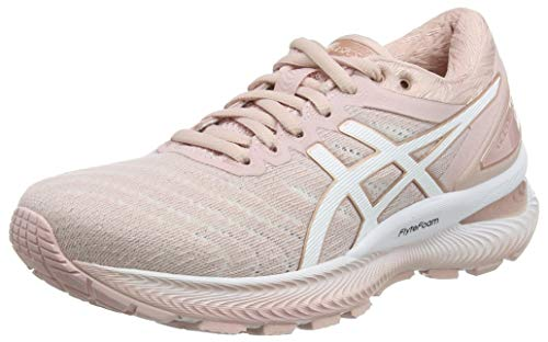 Asics Gel-Nimbus 22, Sneaker Womens, Ginger Peach/White, 37.5 EU