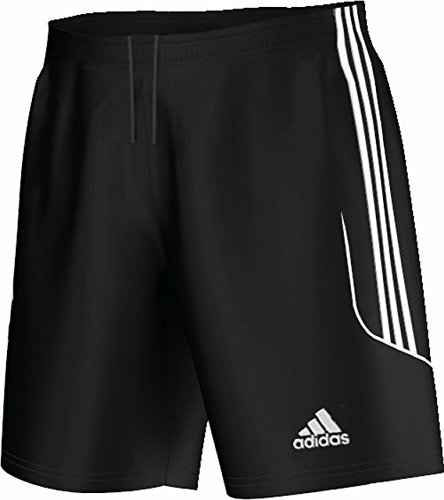 adidas Herren Fußballshorts Squadra 13 ohne Innenslip, Black/White, S