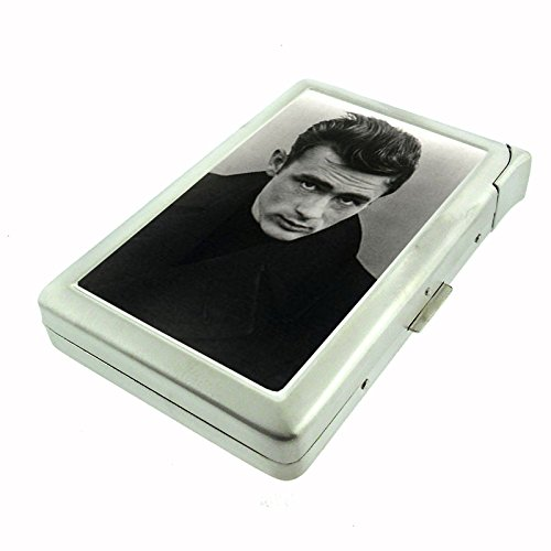 James Dean Moody Drama Cigarette Case with Built In Lighter D-268