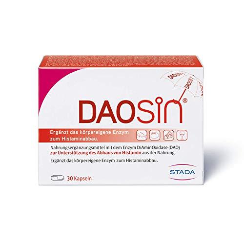 DAOSIN - magensaftresistente Kapseln mit Diaminoxidase Enzym - 1 x 30 Kapseln, 163621, 30 St