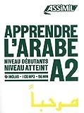 Apprendre l'arabe - Niveau débutant A2 (1CD audio MP3)