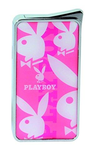 Aansteker   Playboy   van Champ   Gloeipunt   Mirror   5 Bunnys   navulbaar   Flame regelbaar   roze