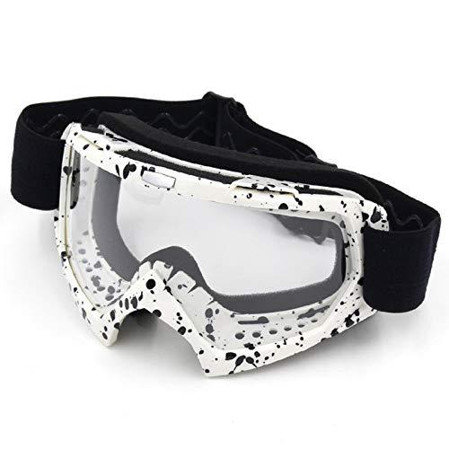 Blisfille Gafas para Bicicleta de Montaña Mujer Gafas de Seguridad Sol,Bright Negro