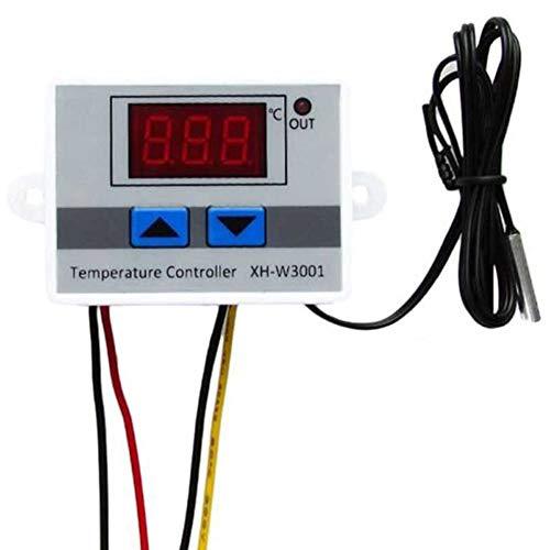 12/24/220V Digital LED controlador de temperatura 10A interruptor de control del termostato y sonda