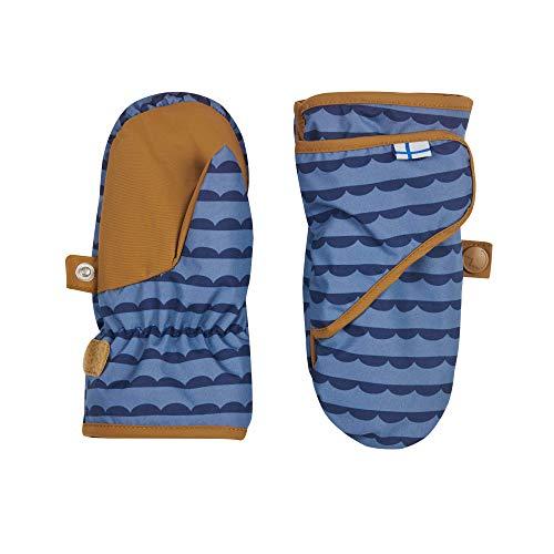 Finkid Unisex LAPANEN Fäustlinge/Handschuhe 1633001 in blau, Kleidergröße:S, Farbe:Blau