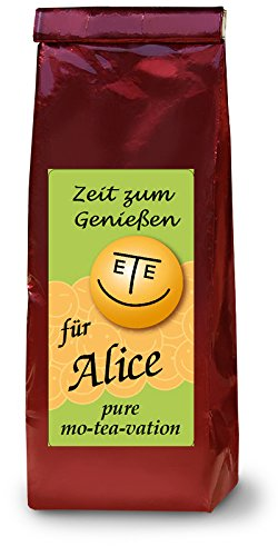 Alice, Namenstee; Früchtetee