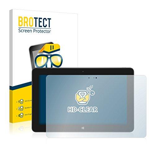BROTECT Schutzfolie kompatibel mit Dell Venue 11 Pro 5130 (2013-2014) (2 Stück) klare Bildschirmschutz-Folie