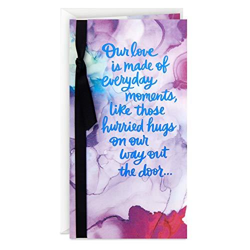 Hallmark Love Card or Anniversary Card (Everyday Moments), 599RZB1400