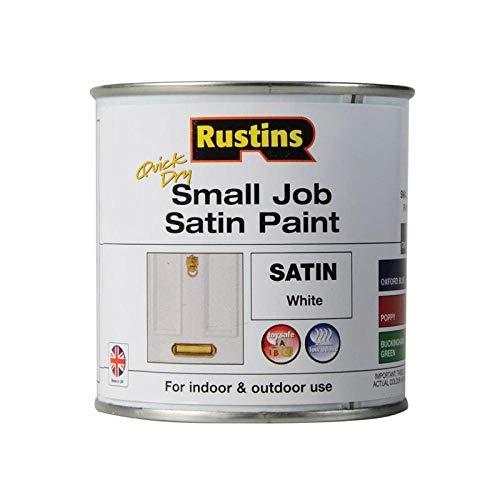 Rustins spwhw250250ml QD piccolo lavoro satinato, colore: bianco