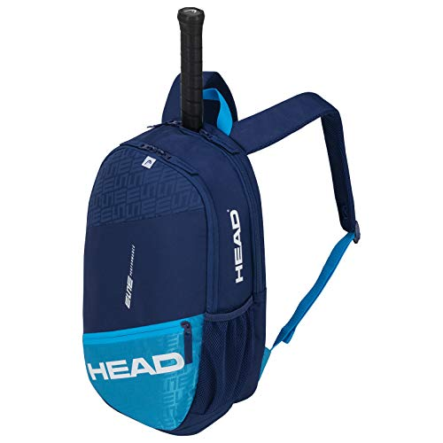 HEAD Unisex's ELITE Backpack Tennis Bag, Navy/Blue, One Size