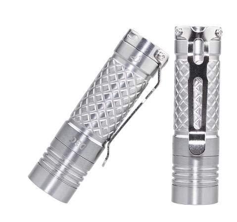 Eagletac D3C Clicky Titanium XP-L HI V3 EDC-Taschenlampe, 680 Lumen, Upgrade von D25C