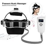 Filfeel Electric Head Massager, Helmet Scalp Brain Relax Tools Pain Vibration Massage with...
