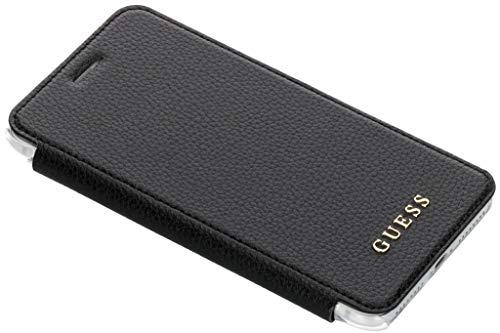 Guess Iridescent Collection - Custodia per iPhone 6/7/8 Plus, colore: Nero
