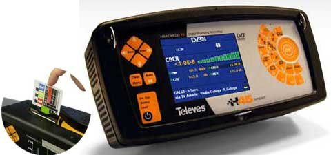Medidor de Campo H45 Compact Full HD + Common Interface...