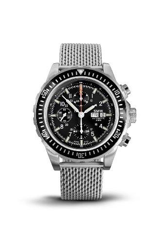 SMW Chronograph Automatic Valjoux 7750 - Milanaise Strap