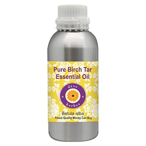 Deve Herbes Aceite esencial de alquitranes de abedul puro (Betula alba) 100%...