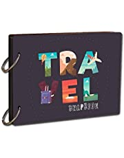 Printelligent DIY Travel Scrapbook Photo Album Diary -Remember and Share All of Our Favorite Travel Memories- by Printelligent