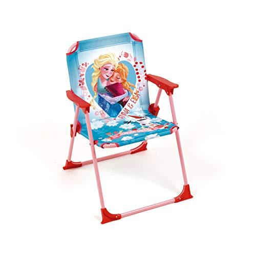 ARDITEX Chaise Pliante pour Enfant sous Licence la Reine des neiges en métal et Tissu, 38 x 32 x 53 cm