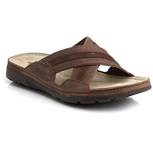 Sandales homme en cuir