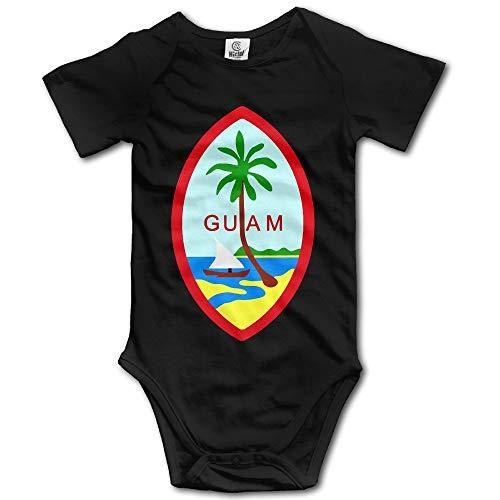 FGRFQ Guam Summer Island Unisex Boys Girls Baby Onesie Bodysuits Organic