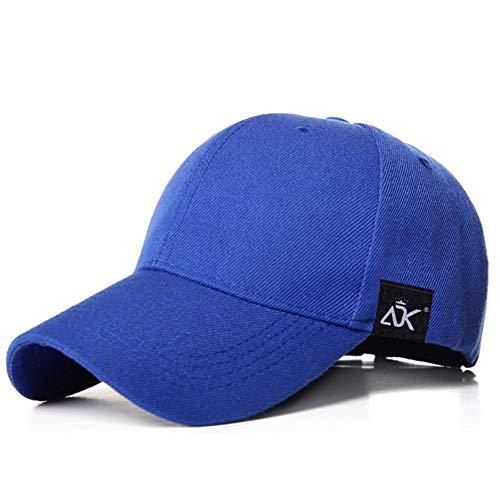 YUANCHENG Gorra de béisbol para Mujer Gorra de Hombre Sombrero Deportivo Sombrero de Verano para Exteriores, Azul Real